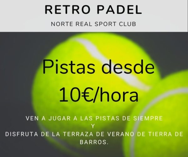 pistas de padel en Norte Real Sport Club